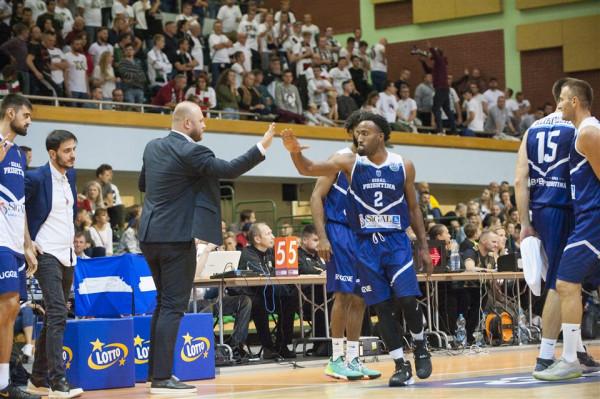 Prishtina starton me fitore në FIBA Europe Cup