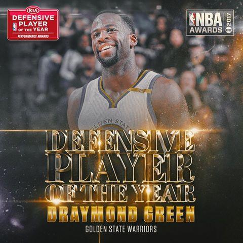 Mbrojtësi më i mirë i vitit Draymond Green