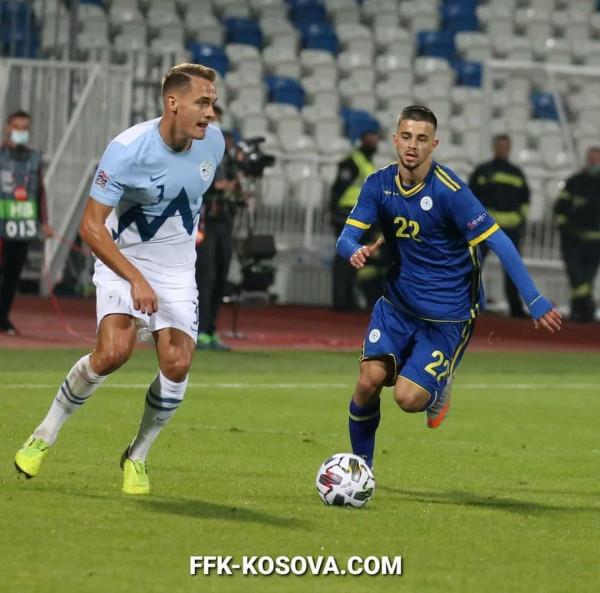 Sllovenia me përforcime për ndeshjen ndaj Kosovës