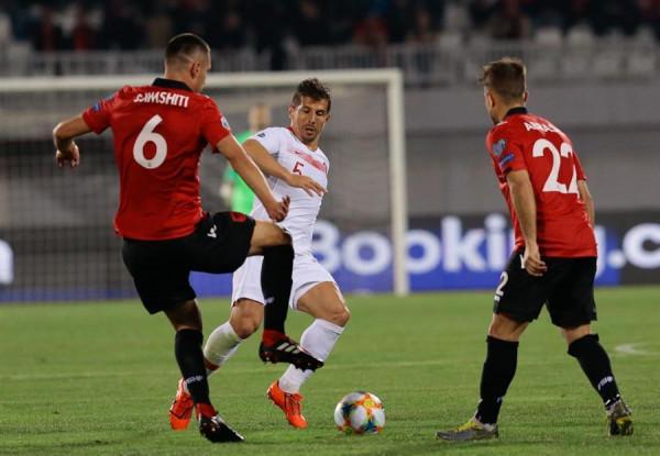 Turqia vs. Shqipëria, 11-shet startuese
