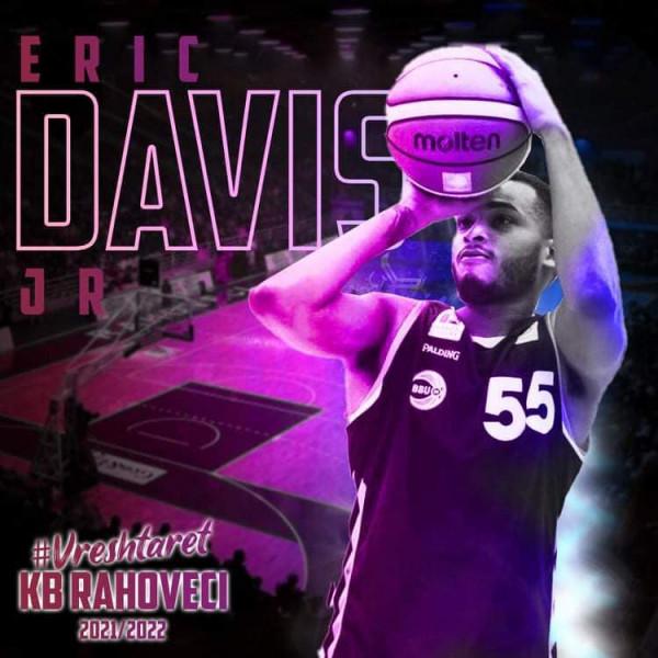 Rahoveci zyrtarizon lojtarin Eric Davis Jr