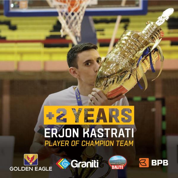 Erjon Kastrati vazhdon kontratën më Yllin