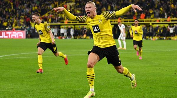 Haaland shpëton Dortmundin në minutat shtesë