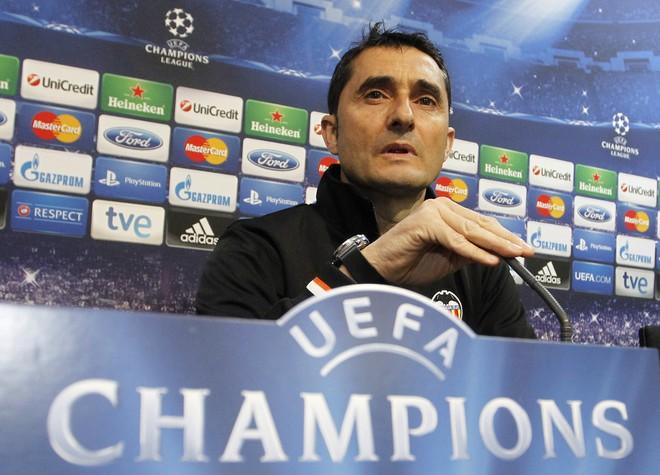 Valverde i Barcelonës!