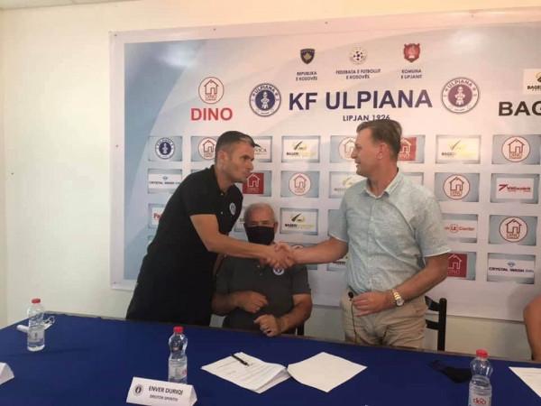 Ulpiana emëron Fadil Ademin trajner