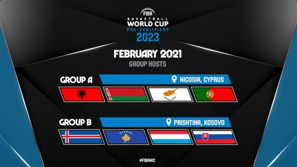 FIBA Evropa ia beson FBK-së ndeshjet e fundit të para-kualifikimeve për Botëror