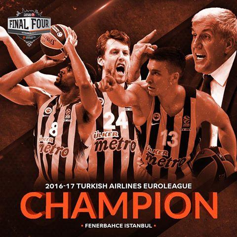 Fenerbahçe, ekipi i parë turk që fiton Euroligën