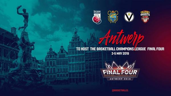 Final 4 i Champions League do të mbahet në Antwerp