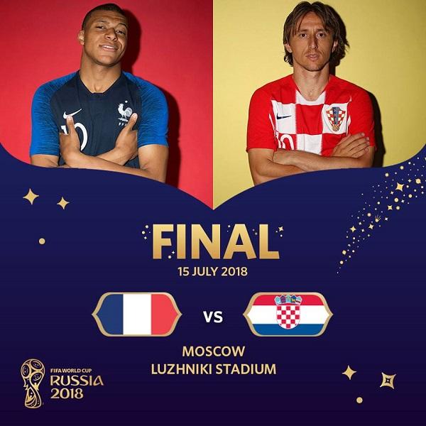 Formacionet: Franca-Kroacia