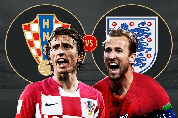 Formacionet: Kroacia - Anglia