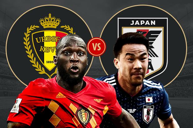 Formacionet: Belgjika - Japonia