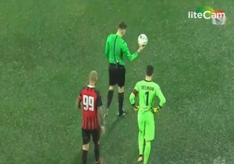 Kushtet atmosferike, ndërprejnë ndeshjen në Vlorë