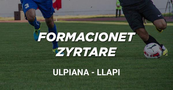 Formacionet zyrtare: Ulpiana - Llapi