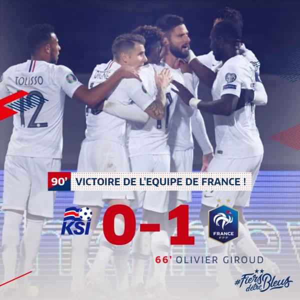 Franca afër kualifikimit
