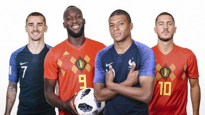 Formacionet: Franca - Belgjika