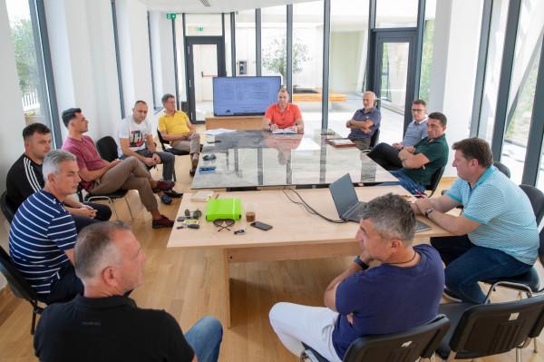 Trajnerët e ekipeve kombëtare, takime pune në FSHF