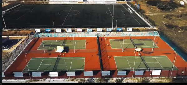 """Fusha e tenisit në Brestovik merr emrin """"Arben Zeka"""""""