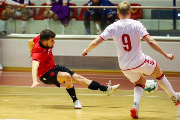 Shqipëria pëson ndaj Danimarkës