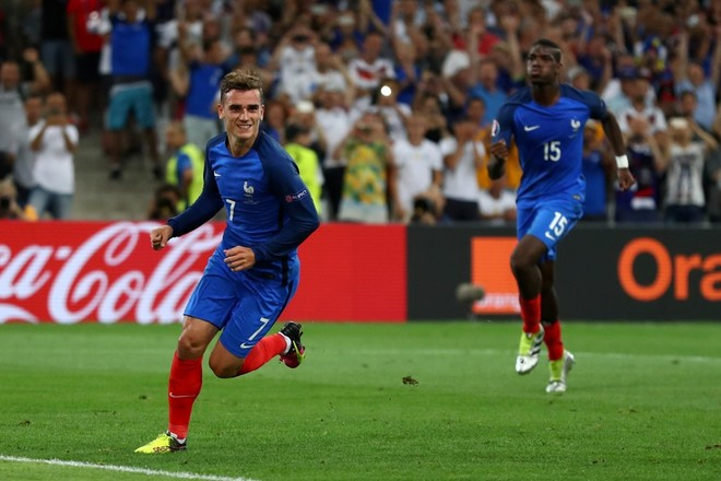 Franca në finale, Gjermania në shtëpi