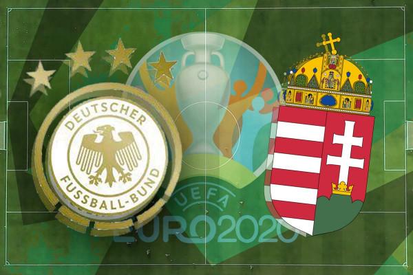 Formacionet zyrtare: Gjermania - Hungaria