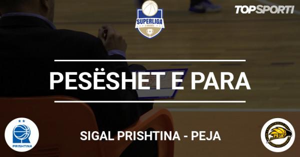 Pesëshet e para: Sigal Prishtina - Peja