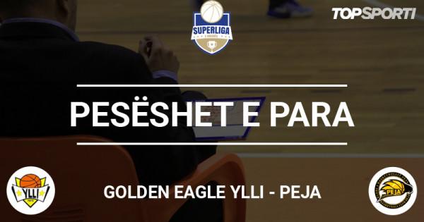 Pesëshet e para: Golden Eagle Ylli - Peja