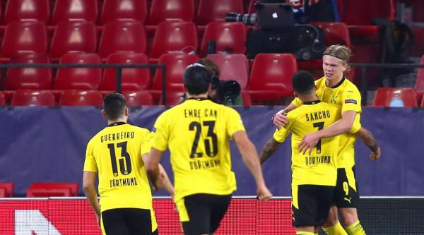 Dortmund dëshirojnë ta mbajnë Haaland para Sancho