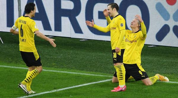Haaland kualifikon Dortmundin