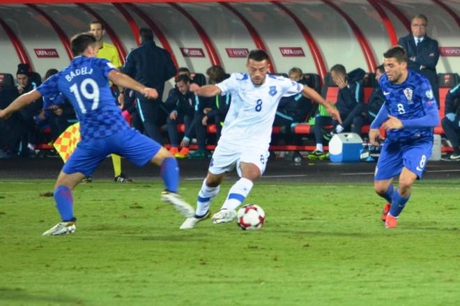 Kroacia publikon skuadrën për ndeshjen ndaj Kosovës