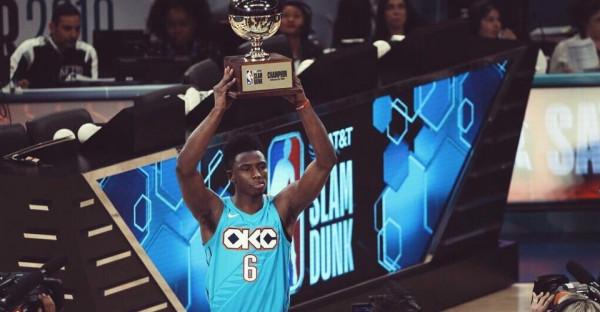 Hamidou Diallo fiton Slam Dunkin
