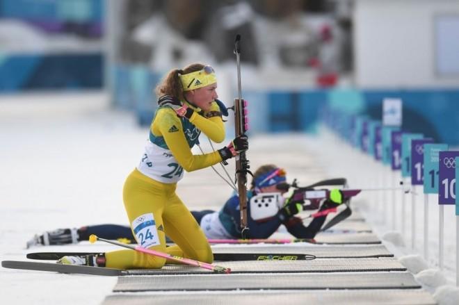 Hanna e artë në biathlon