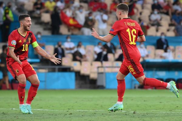 """Hazardi i """"vogël"""" dërgon Belgjikën në çerekfinale"""