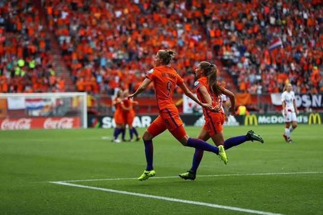 Holandezet fitojnë europianin