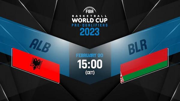 Shqipëria - Bjellorusia, transmetim i drejtpërdrejtë