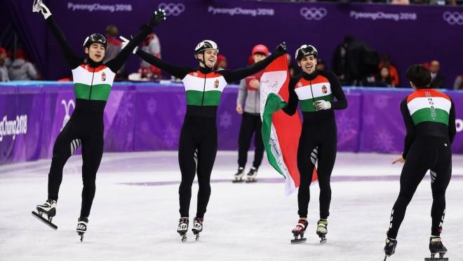Hungaria e artë në patinazh të shpejtë