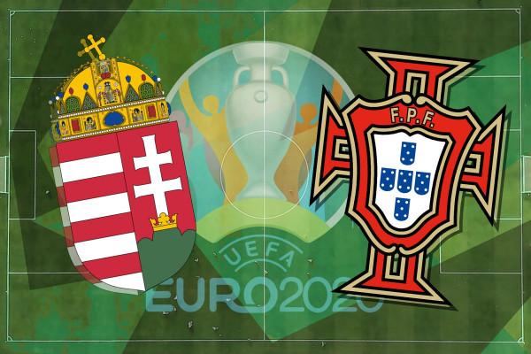 Formacionet zyrtare: Hungaria - Portugalia