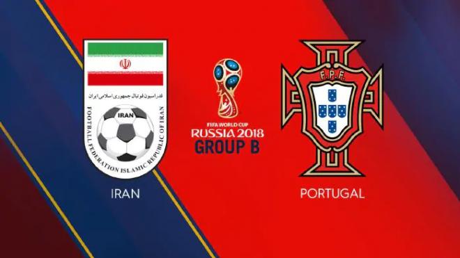 Formacionet: Irani - Portugalia