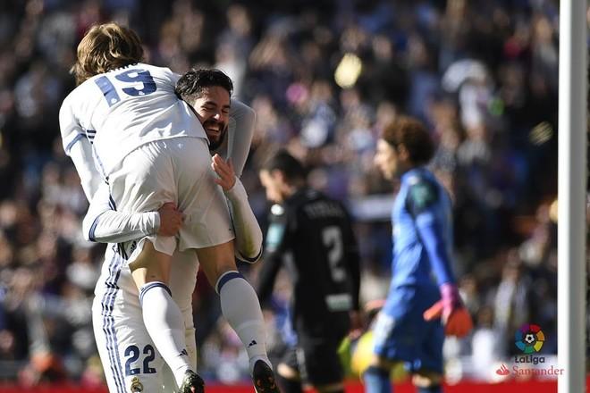 Real Madridi granaton kundërshtarin