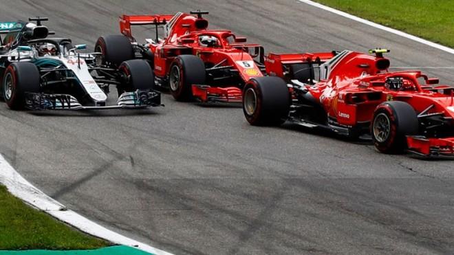 Hamilton fiton në Monza