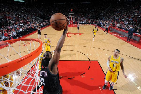 Harden shkëlqen përsëri, Lakers bie në vazhdime