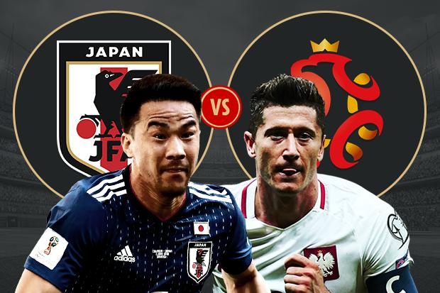 Formacionet: Japonia - Polonia