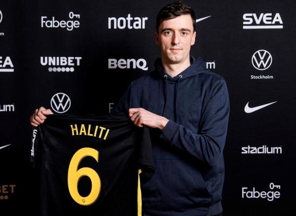 Mbrojtësi Haliti nënshkruan me gjigantin suedez