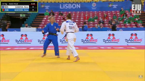 Nora mposhtet në gjysmëfinale, humb rastin për medalje të artë