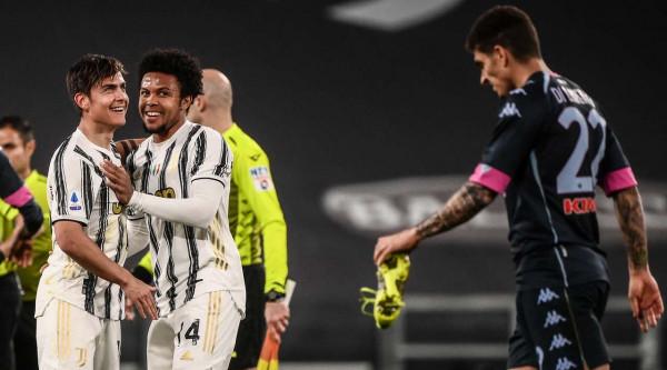 Juventusi e ndal Napolin pas 4 fitoreve rresht