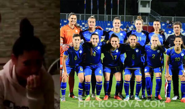Video emocionuese, futbollistja shpërthen në lotë pasi mori ftesën për herë të parë nga Kosova
