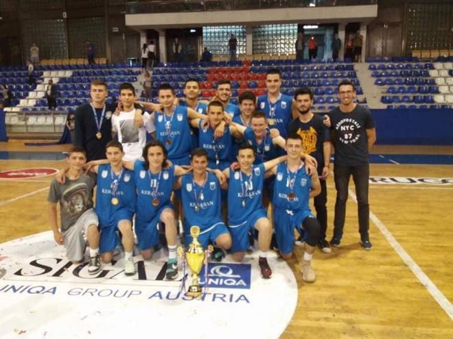 Kerasan Prishtina kampione në U16