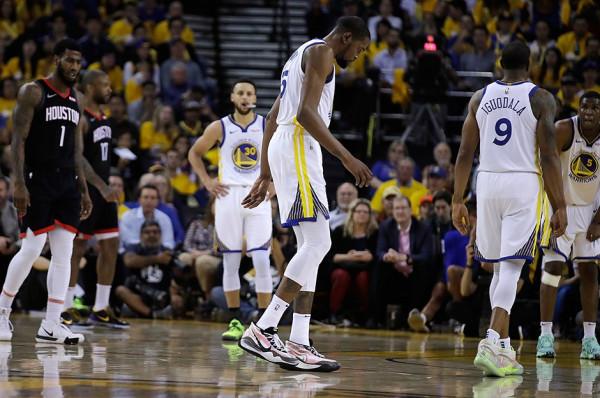 Kevin Durant nuk udhëton në Portland
