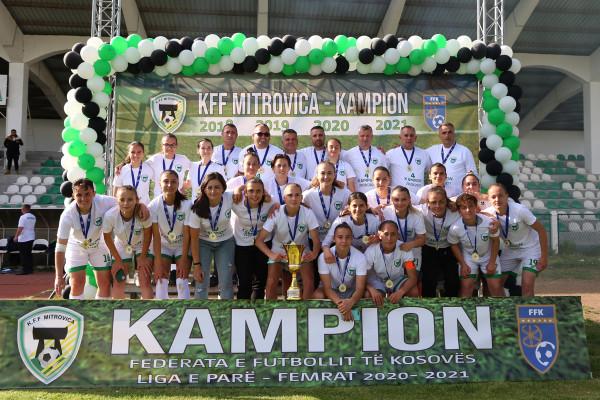 Titulli i katërt rresht për KFF Mitrovicën