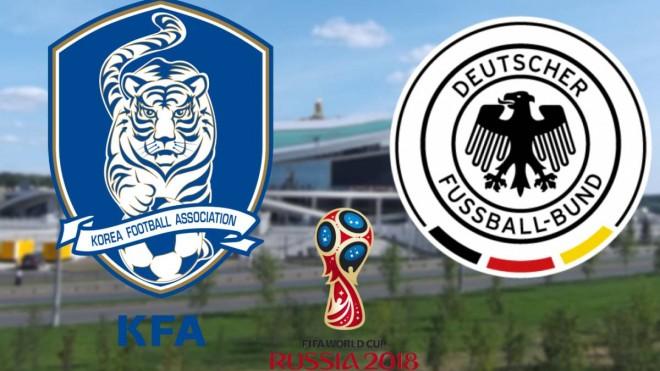 Formacionet: Korea Jugore - Gjermania