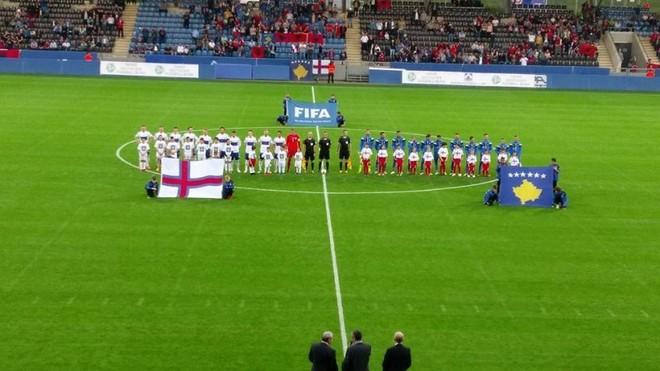 Formacionet zyrtare: Kosova - Ishujt Faroe